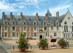 chateau of blois in the loire valley