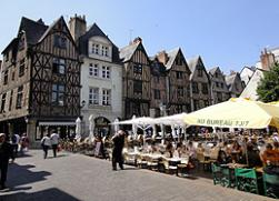 Place Plumereau in Tours