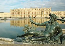 chateau of versailles near paris
