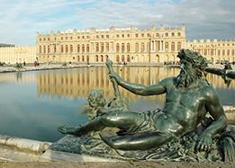 chateau of versailles near paris