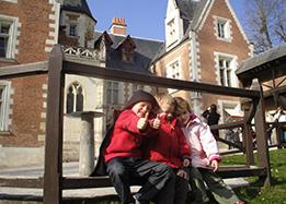 Family tour with children in Amboise in the Loire Valley