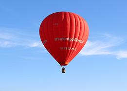 Hot air balloon ride over the Loire Valley castles