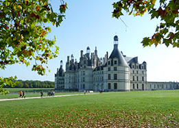 Chateau of Chambord in the Loire Valley