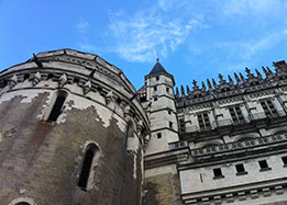 Chateau of Amboise in the Loire Valley