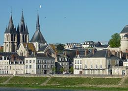 Blois rive gauche - Loire river